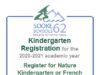 SD62, Kindergarten Registration