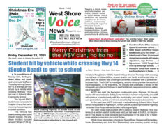 West Shore Voice News, December 13 2019 issue, cover image