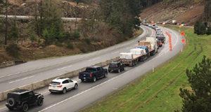 Malahat, Highway 1, traffic incident
