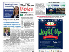 West Shore Voice News, November 29, 2019