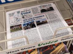 West Shore Voice News, newsstand