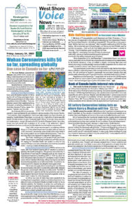 West Shore Voice News, January 24 2020