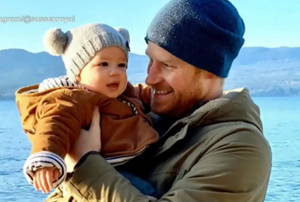 Prince Harry, baby Archie