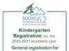 Kindergarten Registration, SD62, 2020