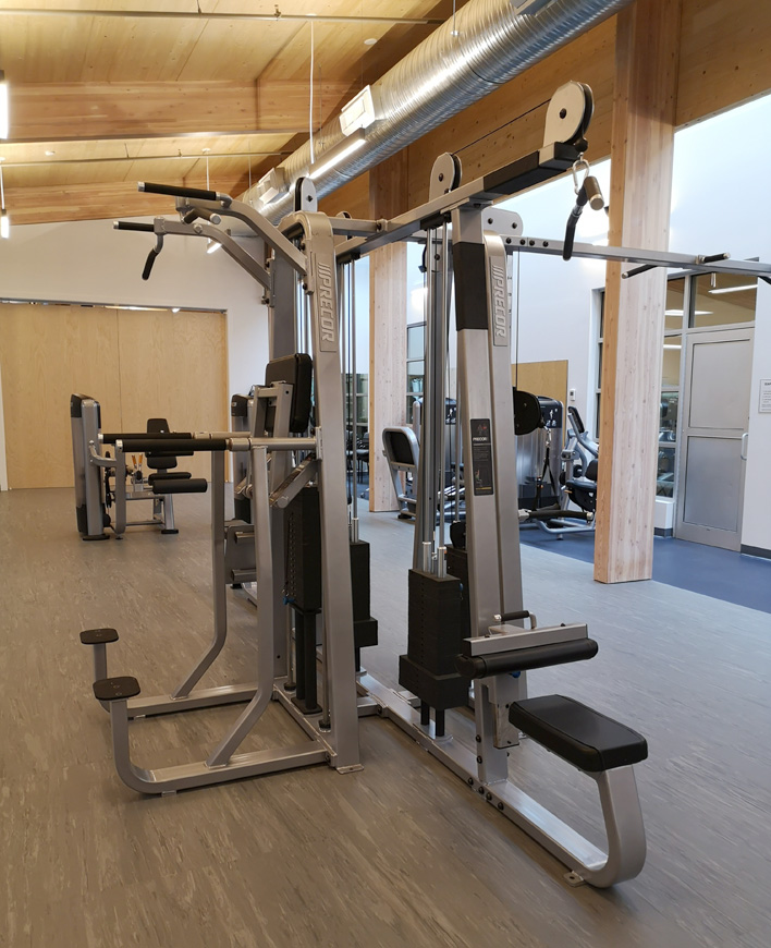 weight lifting, SEAPARC Leisure Complex, Sooke
