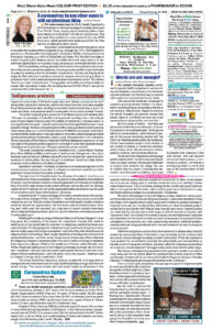 Page 2, February 14 to 16 weekend edition 2020, west shore voice news