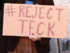 Teck Resources, protest
