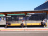 physical distancing, bus stop, Victoria