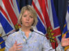 BC Provincial Health Officer Dr Bonnie Henry, March 25, 2020