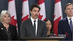 Prime Minister Justin Trudeau, COVID-19, $1 billion fund