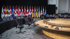 meeting room, First Ministers conference