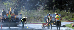 West Shore Parkway, paving, City of Langford, roadworks