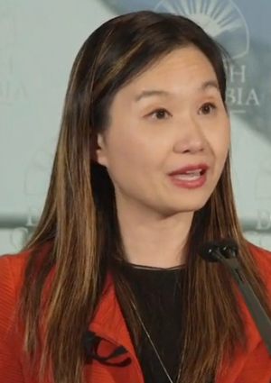 Minister of Citizens' Services Anne Kang