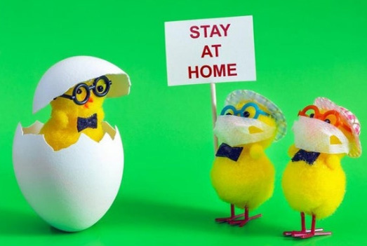 Easter weekend, COVID-19