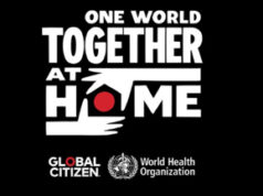 One World Together at Home concert, April 18 2020