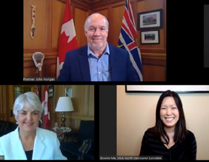 John Horgan, Carole James, BC NDP