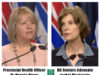 Provincial Health Officer Dr Bonnie Henry, BC Seniors Advocate Isobel Mackenzie