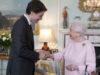 Prime Minister Justin Trudeau, Queen Elizabeth II