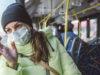 wearing mask, public transit