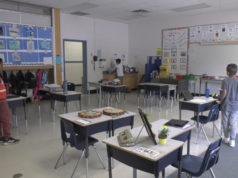 Physical distancing in classrooms