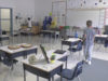 physical distancing, classroom
