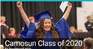 Camosun College, spring grad, online, 2020