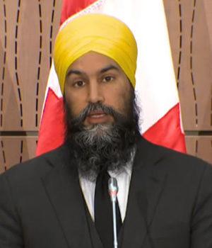 NDP Leader Jagmeet Singh, June 17 2020
