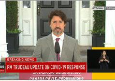 Prime Minister Justin Trudeau, June 29 2020