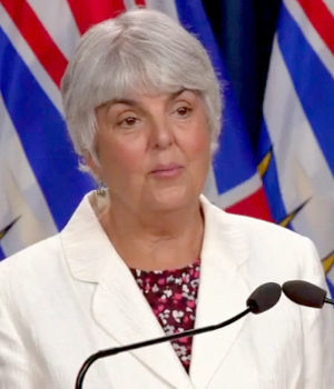 Finance Minister, Carole James