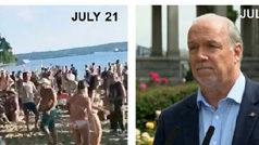 Premier John Horgan, July 23 2020, COVID