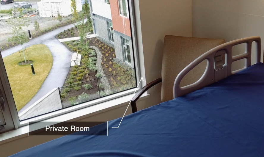 private room, long term care