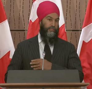 NDP Leader Jagmeet Singh, July 8 2020