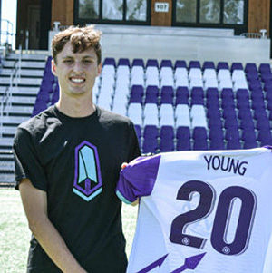 Pacific FC, midfielder, Sean Young.