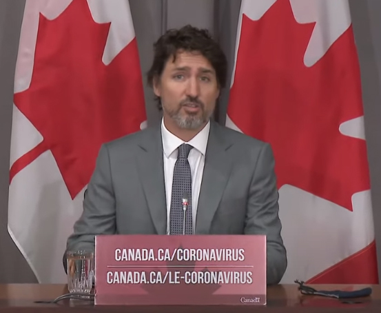Trudeau, July 8 2020