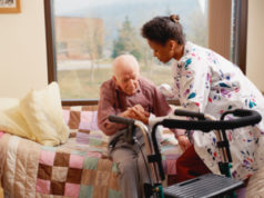 elderly, long term care