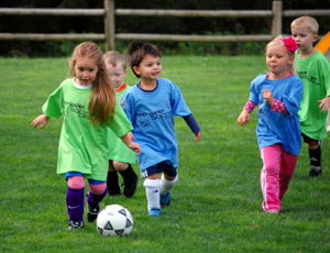soccer, young kids, sport