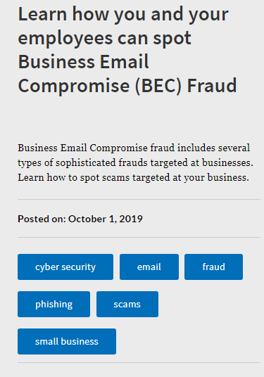 fraud, business email