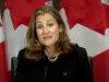Federal Finance Minister Chrystia Freeland