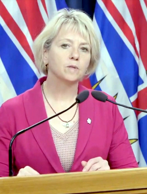 Provincial Health Officer, Dr Bonnie Henry, August 12 2020