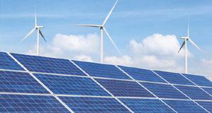 wind, solar, clean energy
