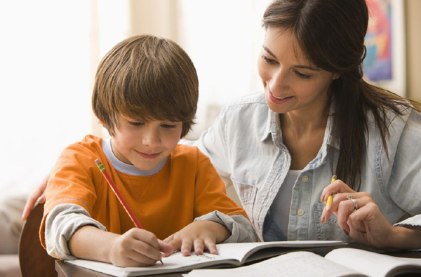 student, homework, parent