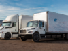 Electric transport trucks