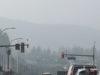 smoky skies, Langford, September 11 2020