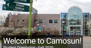 Camosun College, fall 2020