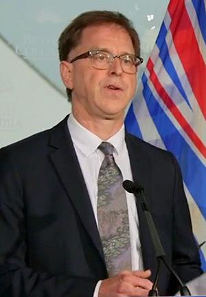 BC Health Minister, Adrian Dix, September 17, 2020