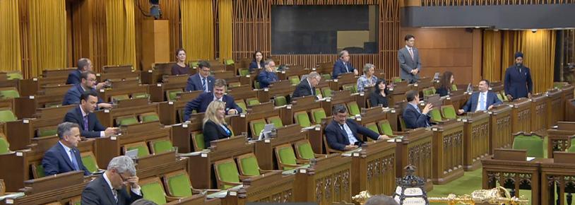 Jagmeet Singh, Alistair MacGregor, House of Commons, September 29, 2020