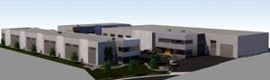 Seaspan facility in Colwood, rendering