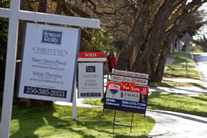 house for sale, signs