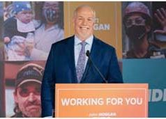 John Horgan, 2020, NDP Campaign