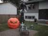 Halloween, decorated home
